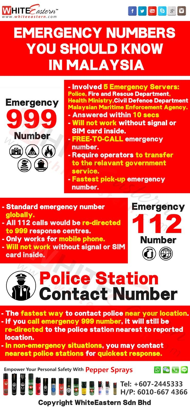Emergency Number You Should Know In Malaysia Emergency Kids Outfits Girls Emergency Contact