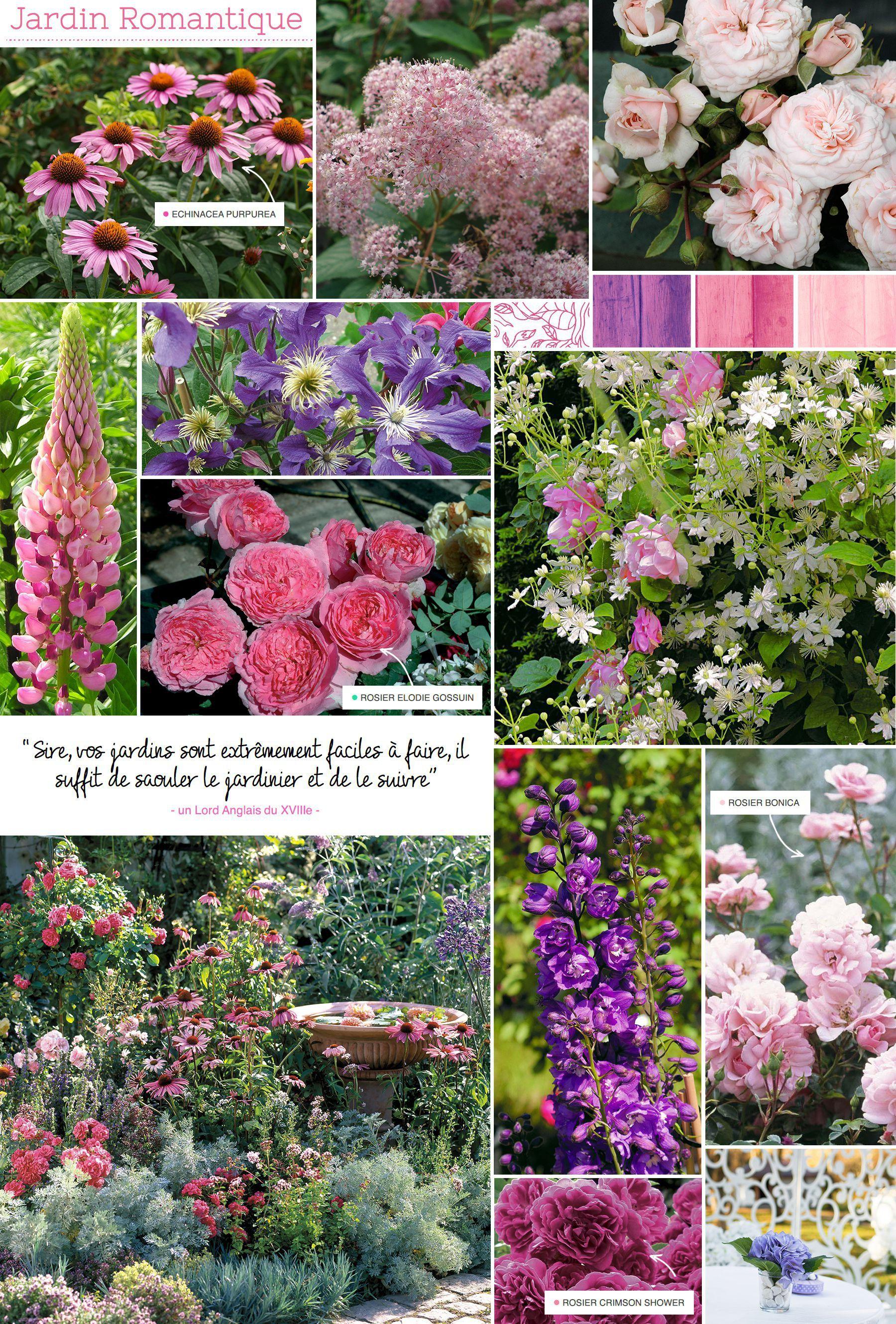 Jardin Romantique | Maison | Jardin romantique, Plante jardin et Jardins