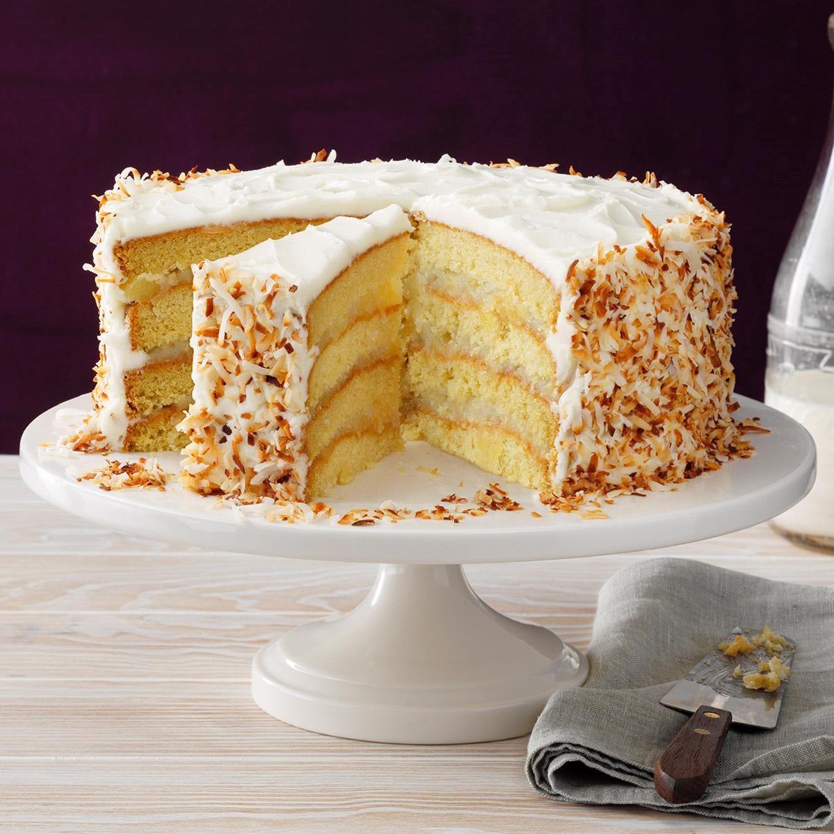 Coastal Coconut Cream Cake Recipe In 2020 How Sweet Eats