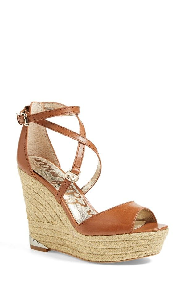 Sam Edelman Turner Espadrille Wedge Sandal Women Nordstrom Wedge Sandals Women Shoes Womens Sandals