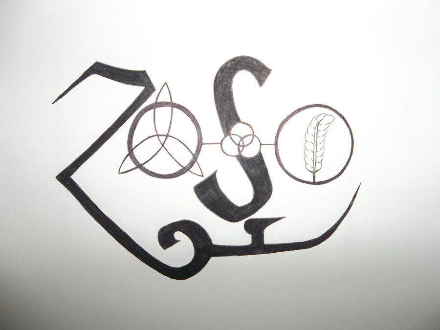 Led Zeppelin Symbols By Yessica83 On Deviantart Led Zeppelin