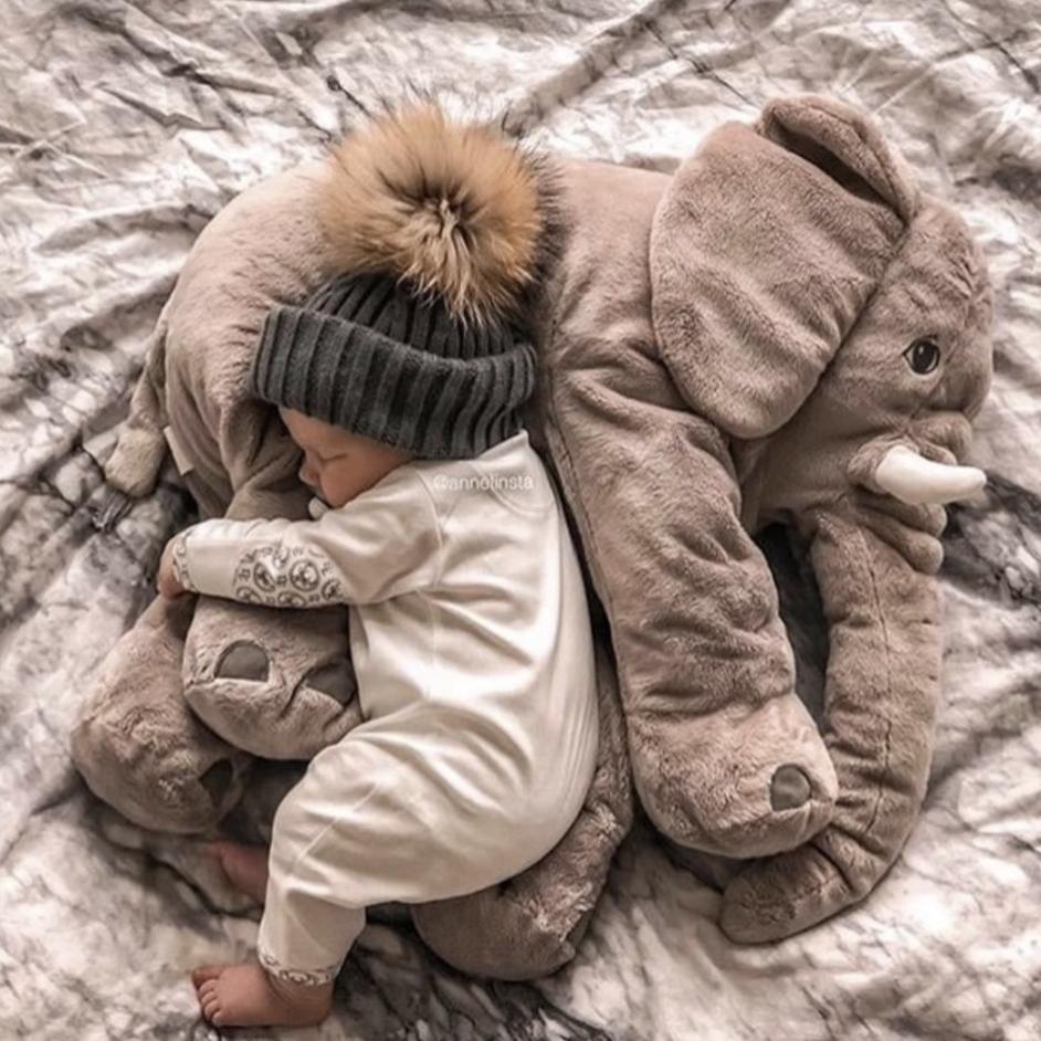 Baby | Elephant pillow, Elephant plush