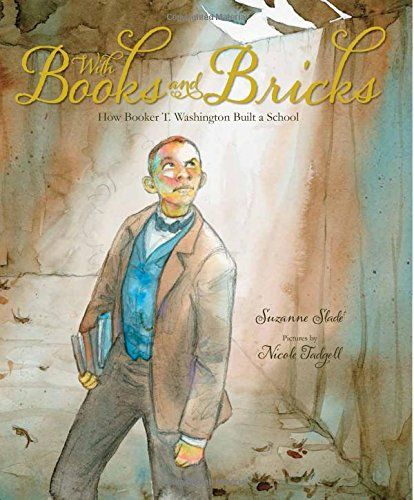 With Books and Bricks: How Booker T. Washington Built a School by Suzanne Slade http://www.amazon.com/dp/0807508977/ref=cm_sw_r_pi_dp_d0X0wb03RPTAW