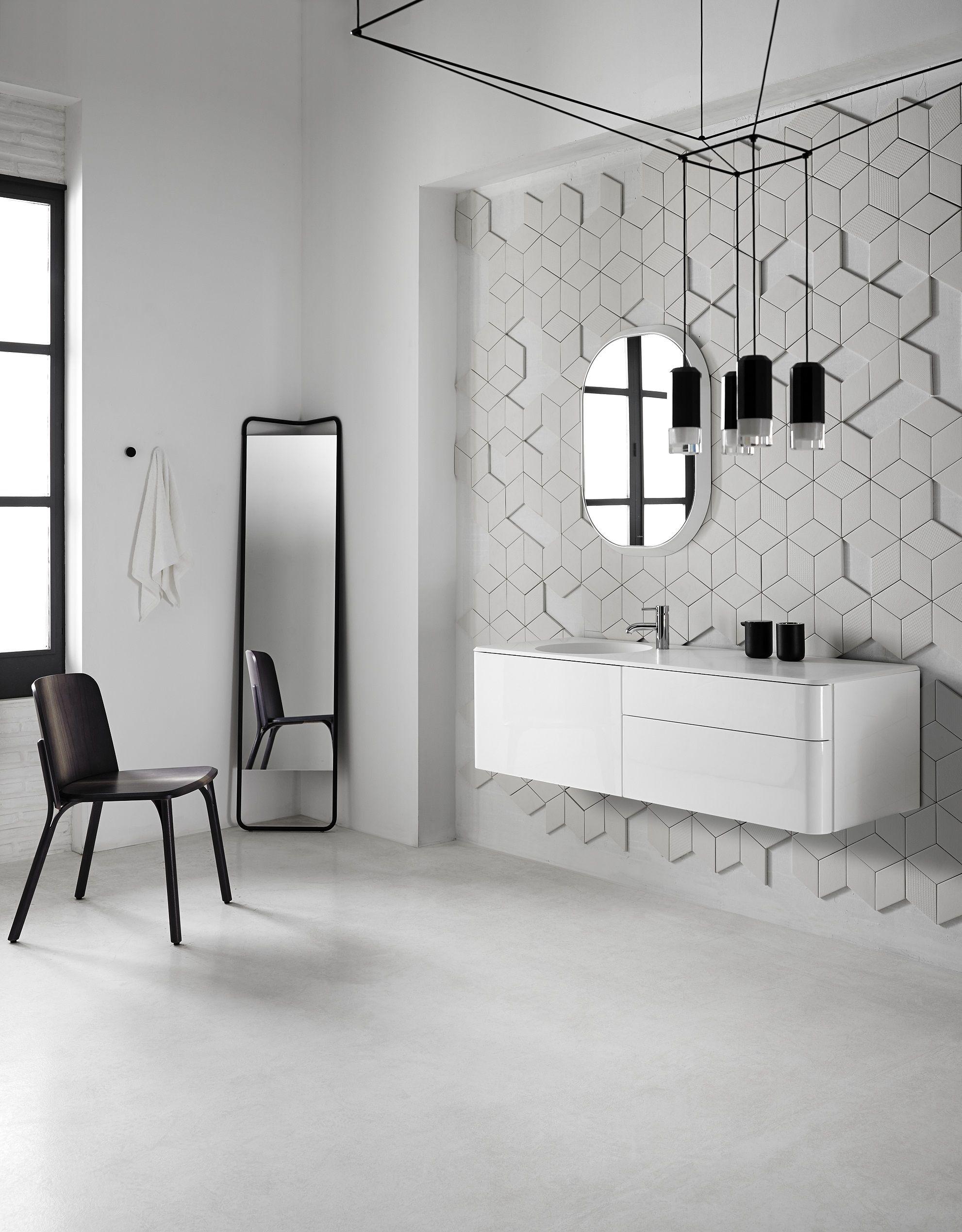 Badezimmerausstattung FLUENT | Badezimmerausstattung Kollektion Fluent By  INBANI Design Arik Levy