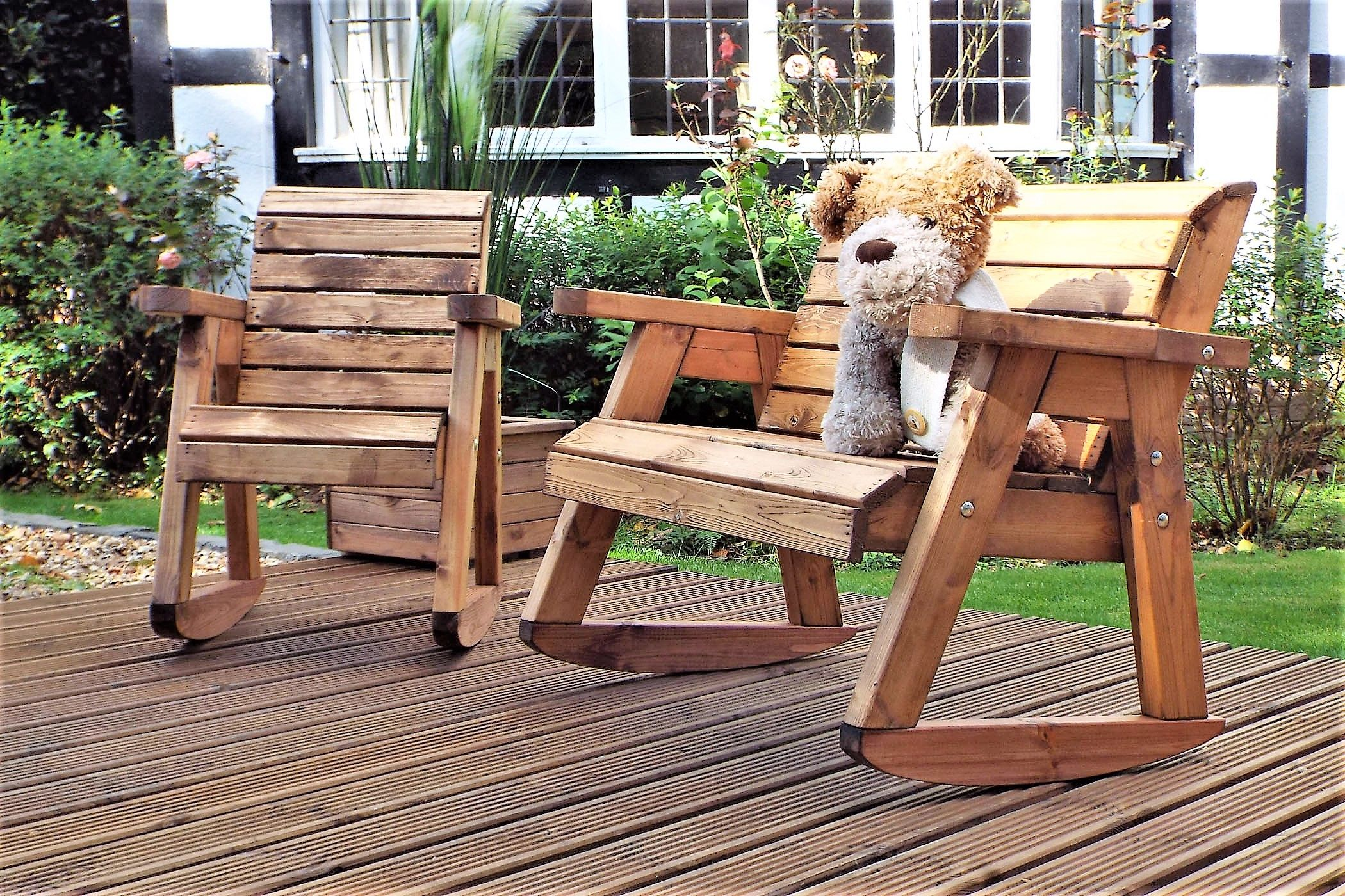 Admirable Our Childrens Solid Wood Rocking Bench Rocking Chair Set Pdpeps Interior Chair Design Pdpepsorg