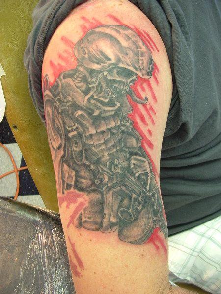 army ranger skull tattoo army ranger tattoo army ranger tattoo his tattoos pinterest army. Black Bedroom Furniture Sets. Home Design Ideas