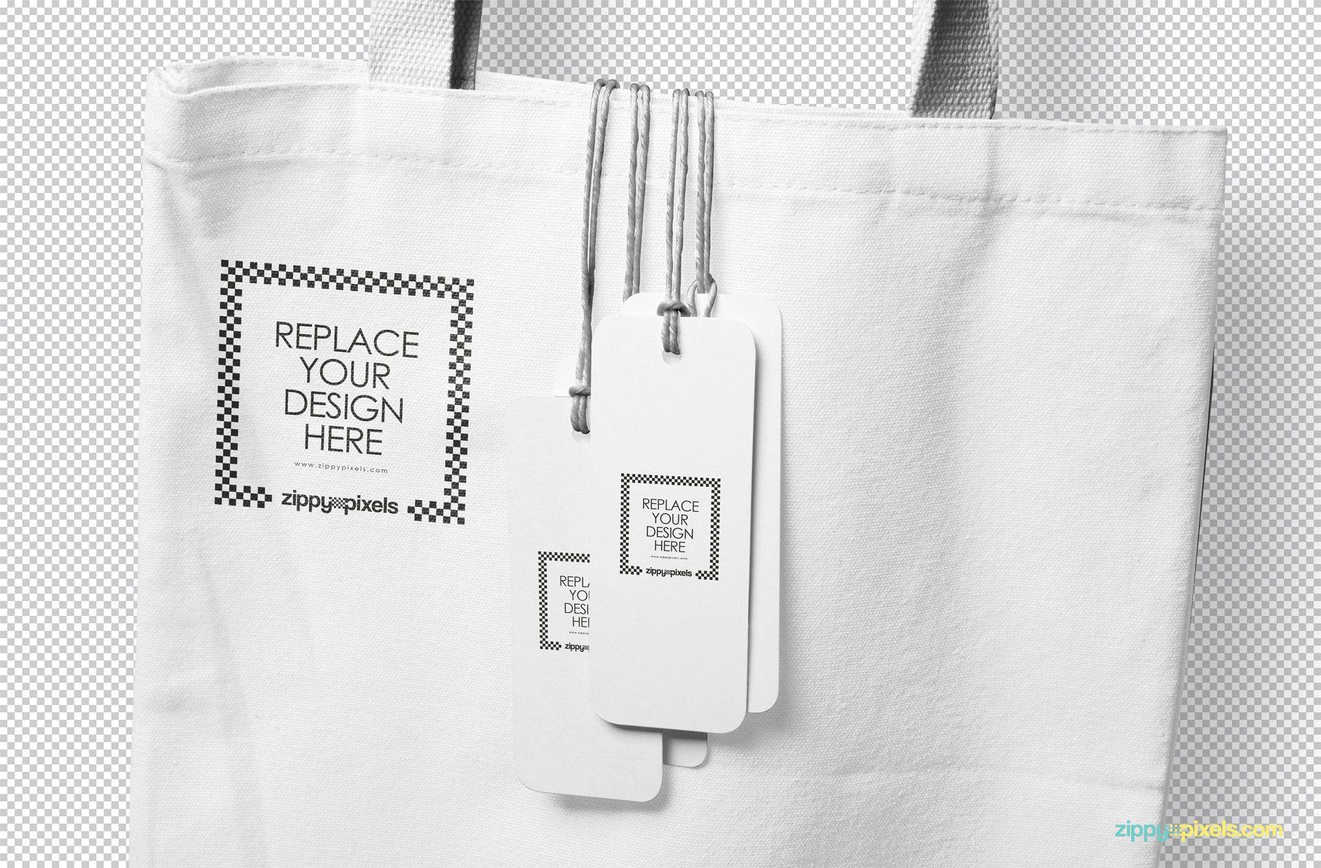 Download Free Hanging Tags Mockup Zippypixels Clothing Mockup Bag Mockup Mockup