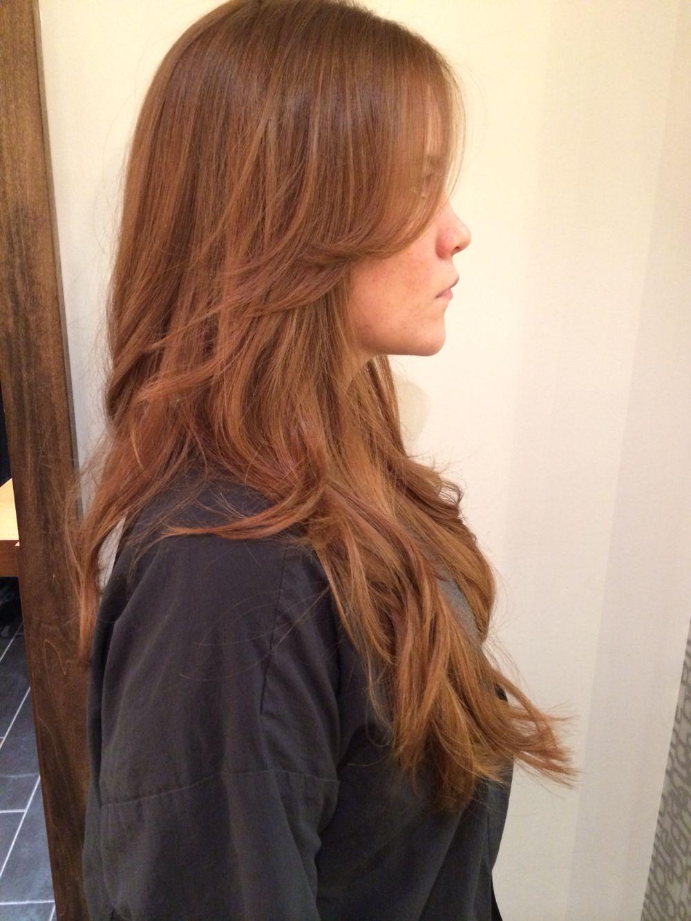 Haircut Red Hair Long Layers Bumble And Bumble Long Hair Long Hair Styles Red Hair Long Layers Hair Envy