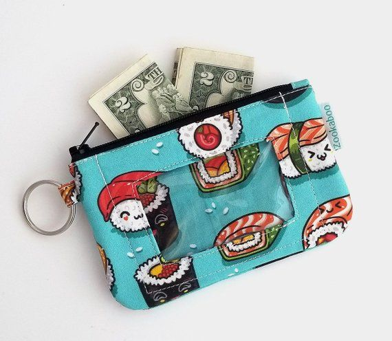 Novelty Gift PENGUIN PURSE  Luxury Handcrafted Leather Wristlet Purse