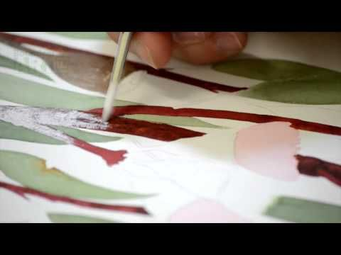 Botanical Art Tutorial Dry Brushing Youtube Learn