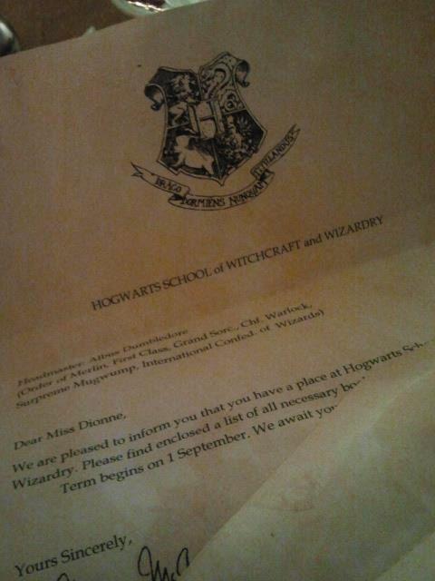 Custom Hogwarts Acceptance Letter  Hp    Acceptance