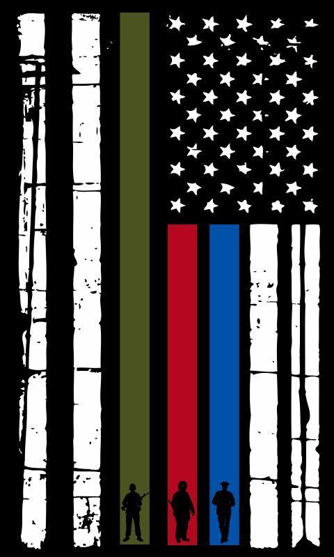 Image result for thin blue line thin red line flag truck emblem badge 226b4bd110a