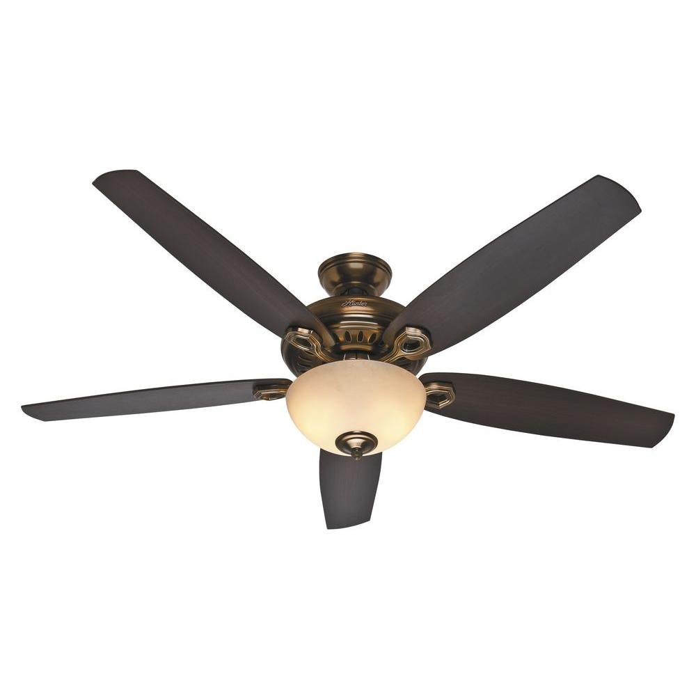 Hunter Ceiling Fan Pull Chain Switch Prepossessing Hunter Valerian 60 Inbronze Patina Ceiling Fan54061  The Home Decorating Design