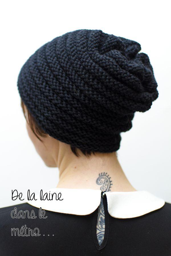 2dd661f362fb4 de-la-laine-dans-le-metro-bonnet-5resize …   Πλεκτα κασκολ   Trico…