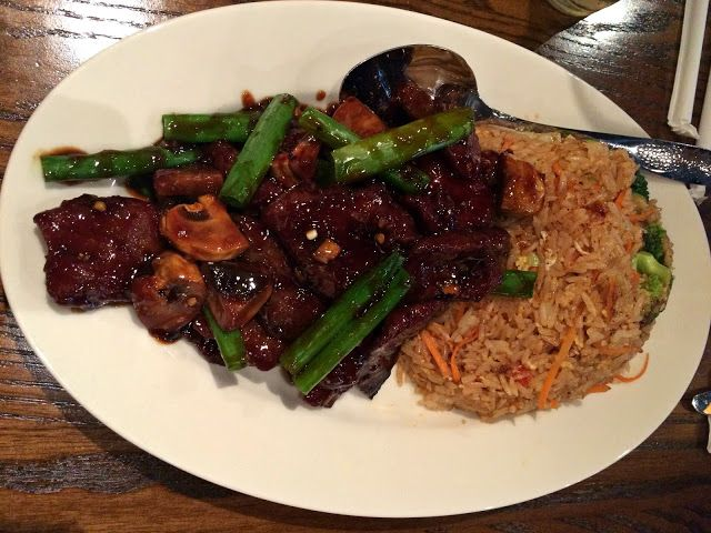 Review Pei Wei Food Beef