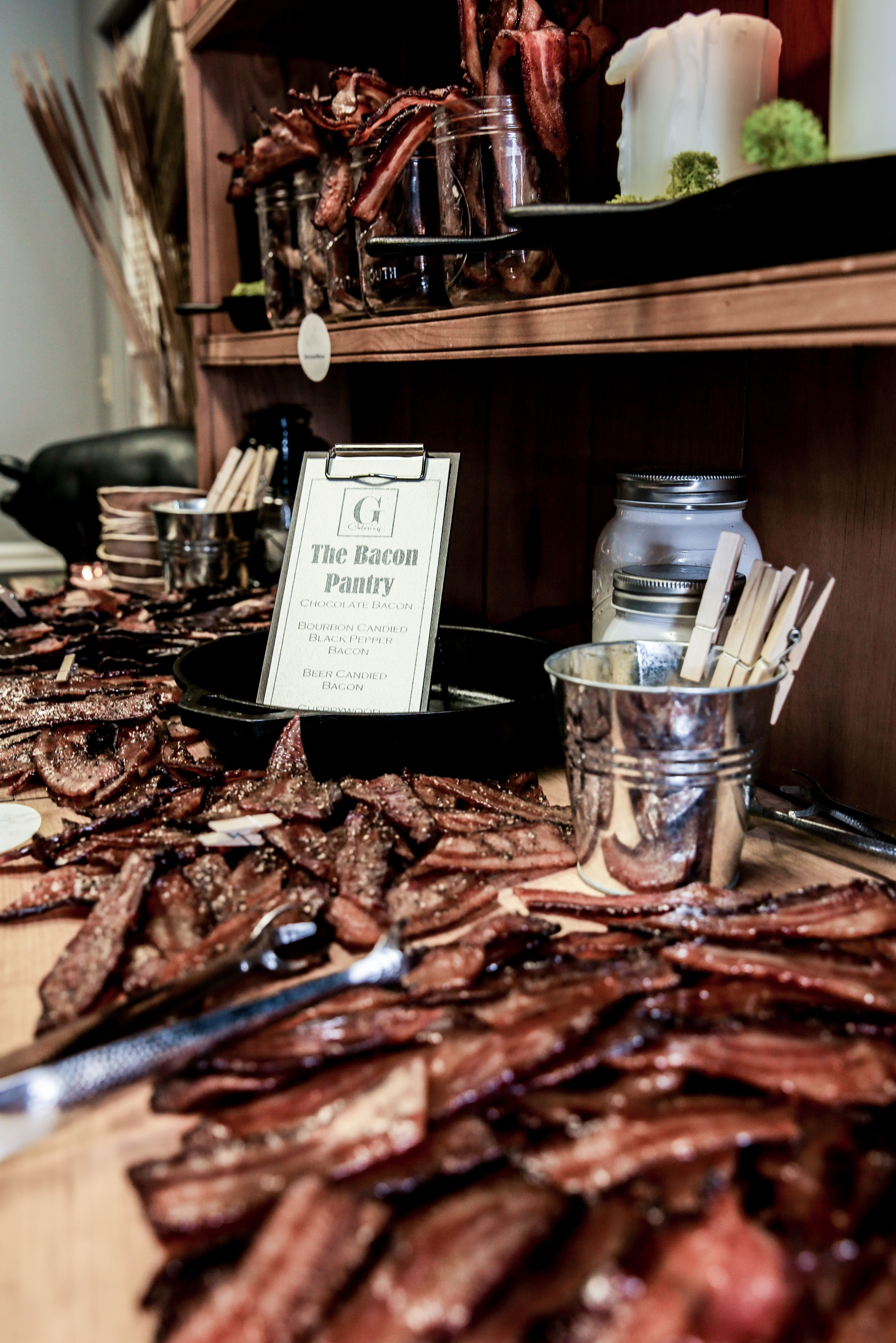 Bacon bar photo cred red hare photography food