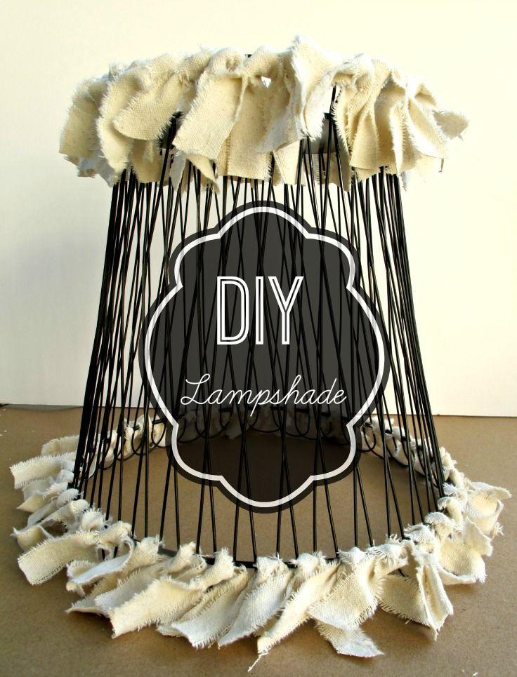 DIY Lampshade trash to treasure Diy, Lamp shades