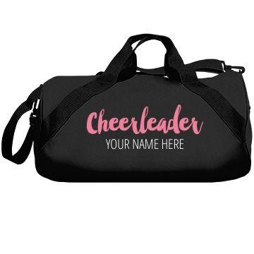 Custom Name Cheerleader Bags Cheerleading Bags Bags Dance Bag