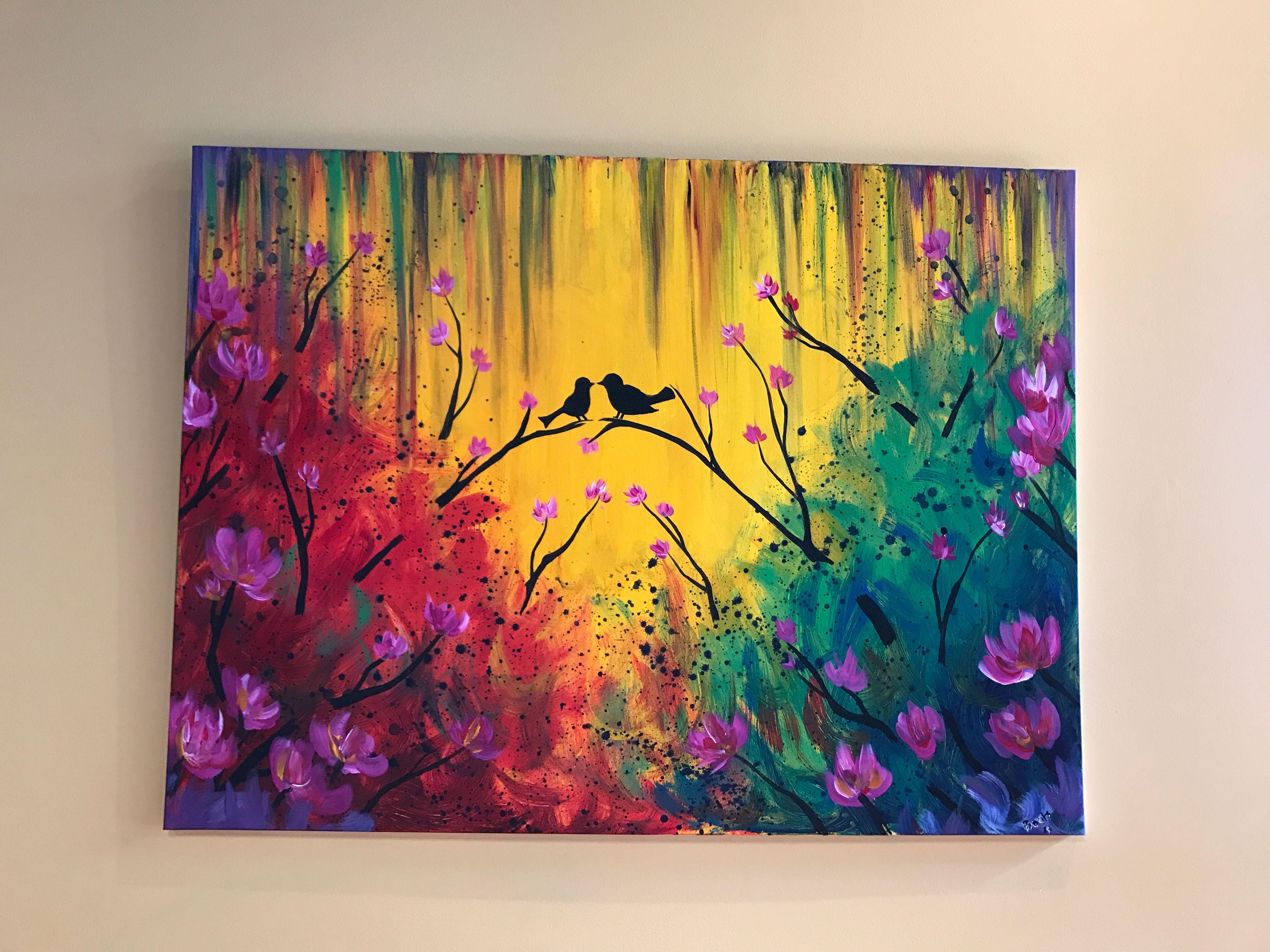 Картинки рисунков акриловыми красками
