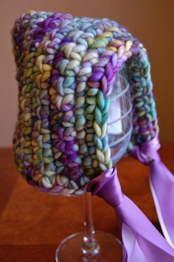 Crochet Newborn Pixie Bonnet Malabrigo Rasta 100 by theknotshoppe ...