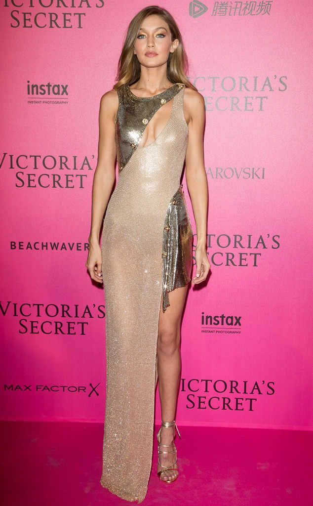 Gigi Hadid, Victoria\'s Secret Pink Carpet | ELEGANTNÍ ŠATIČKY ...