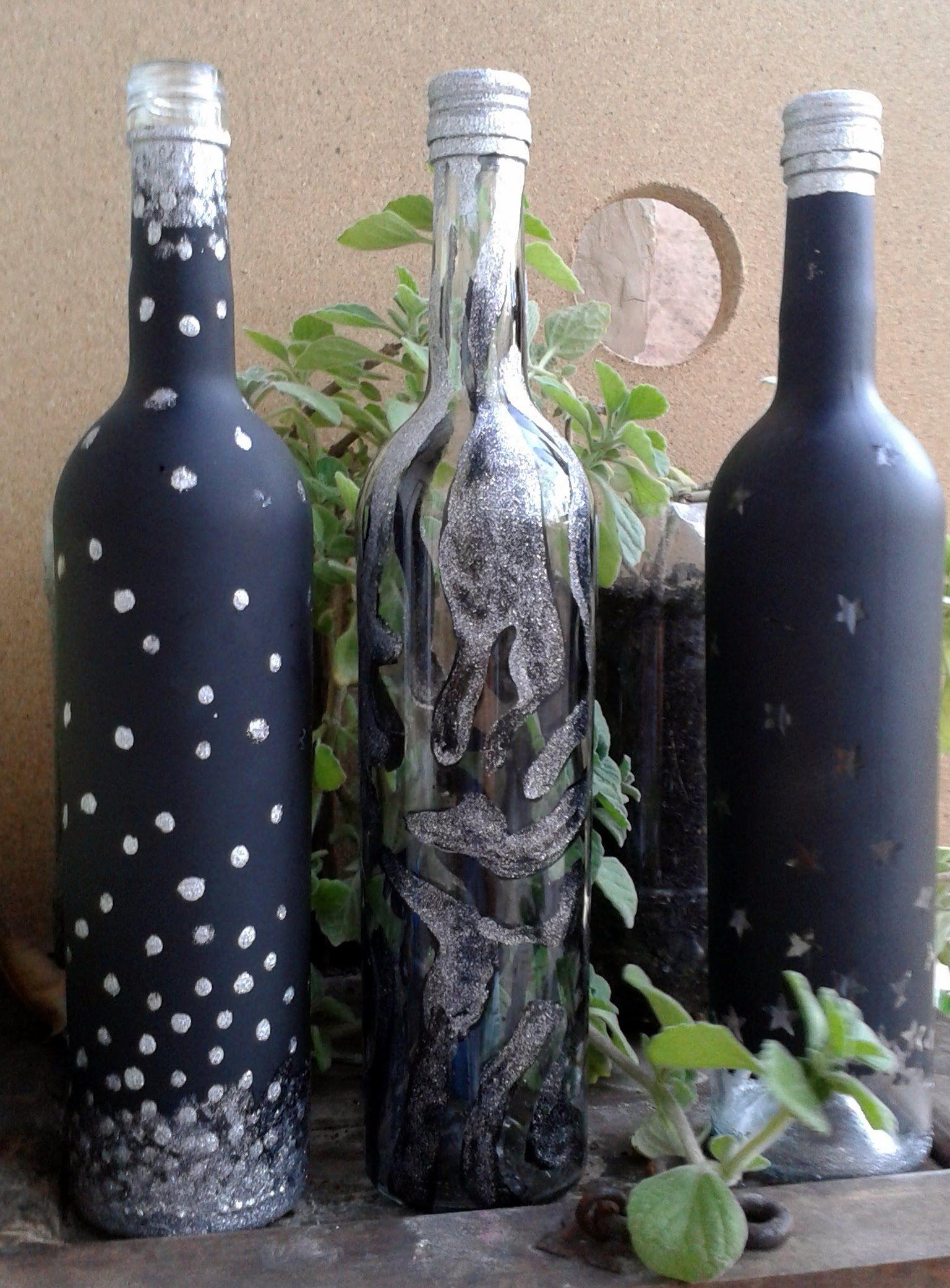 Si tienes vasos envases botellas o frascos de vidrio te - Como cortar botellas de vidrio ...