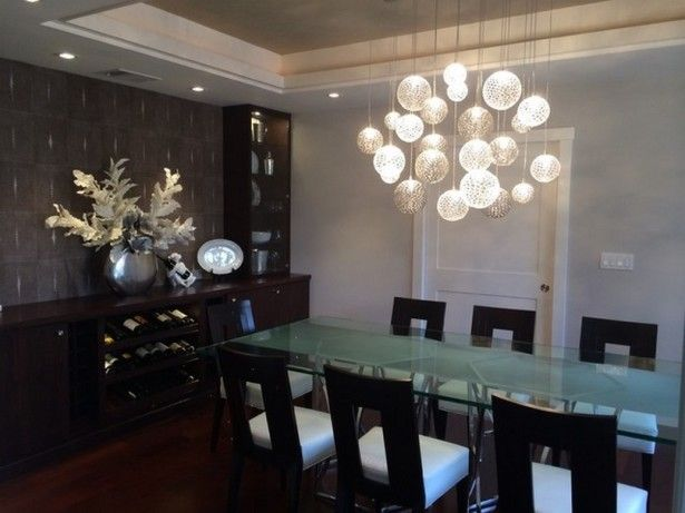 Latest Dining Room Designs Trends 2015 With Ideal Height For Chandelier