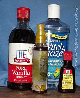 how to make your own body spray