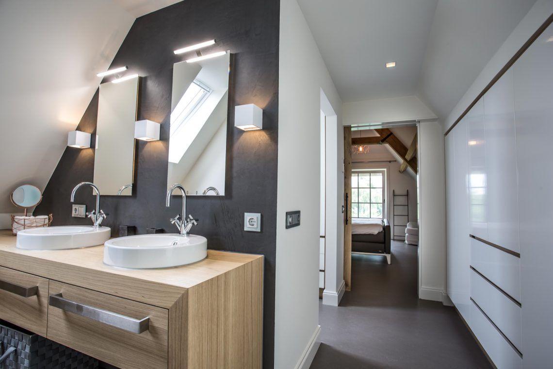 Kleine Ensuite Inloopkast : Interieur oost slaapkamer inloopkast badkamer hoog