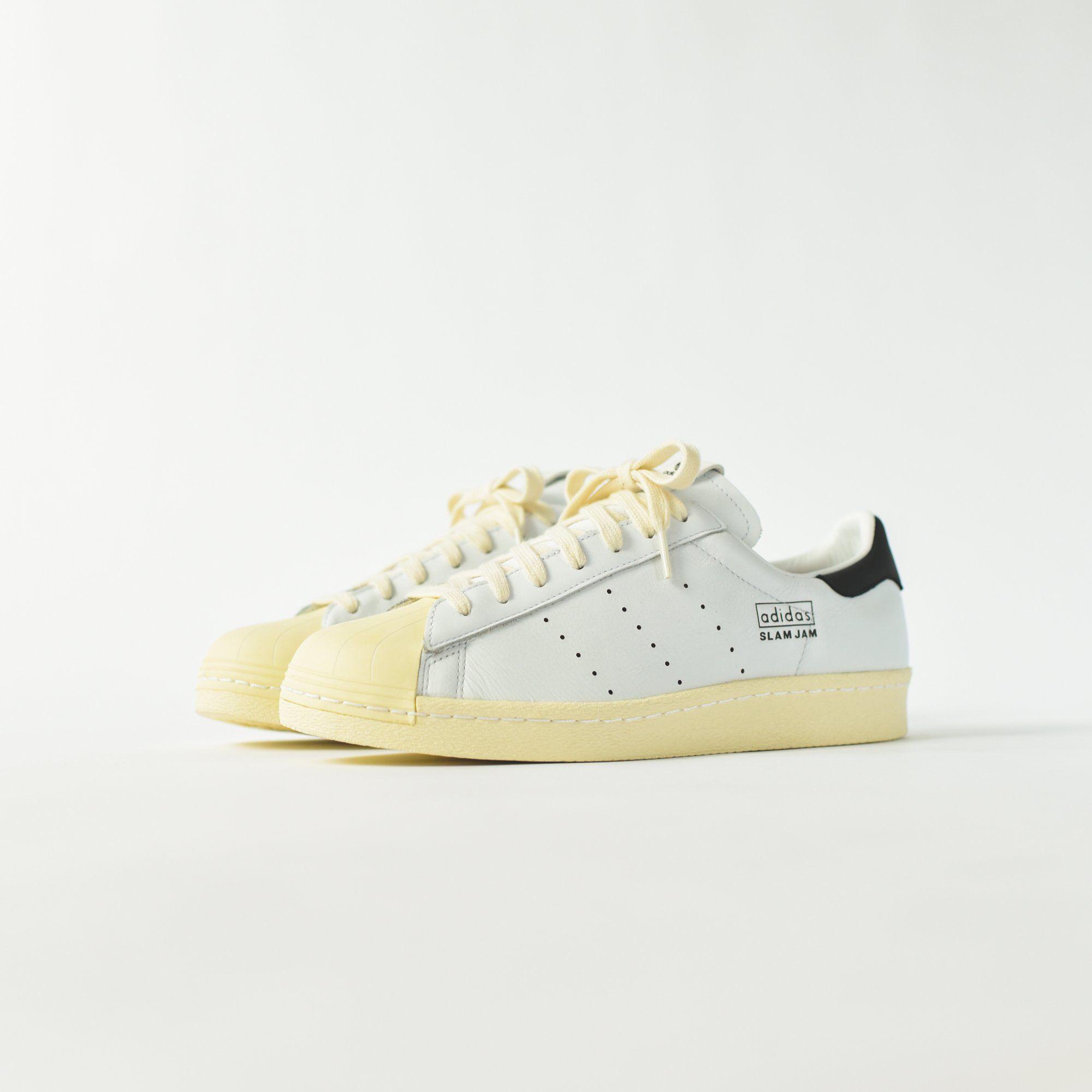67628c26e adidas Consortium x Slam Jam Superstar 80s - White - 8
