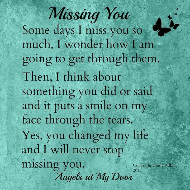 Dennis I Will Never Stop Missing And Loving You You Are My Soul