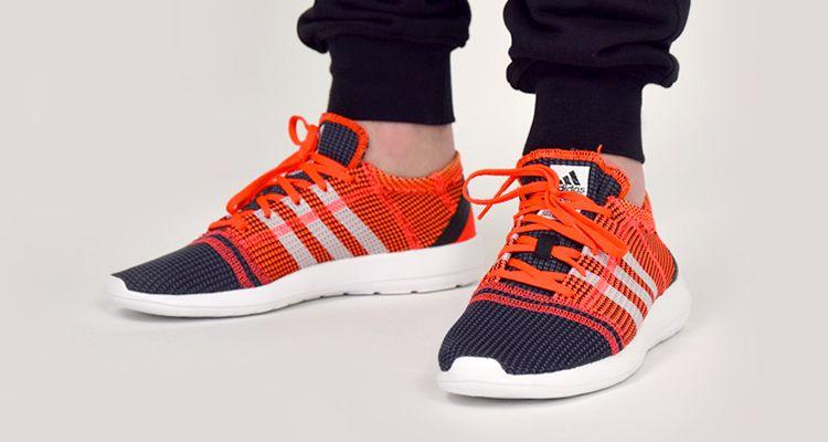 Adidas Element Refine Tricot Running Shoes Mens Orange
