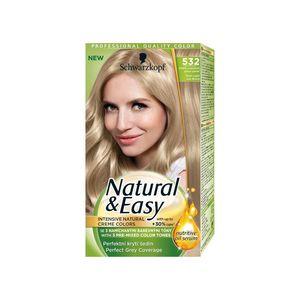 Schwarzkopf Natural   Easy 532 Pearl Light Ash Blonde Hair Color ... eedbec8c27