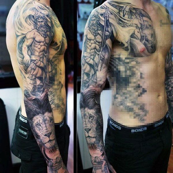 ancient greek tattoos for men full sleeve tatuaggi braccio pinterest ancient greek tattoo. Black Bedroom Furniture Sets. Home Design Ideas