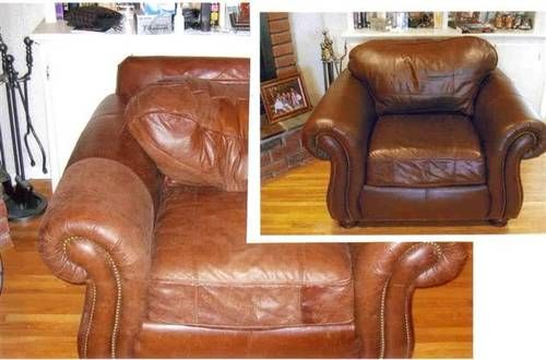 Leather Repair Furniture In St Louis Charles Mo Ballwill Chesterfield