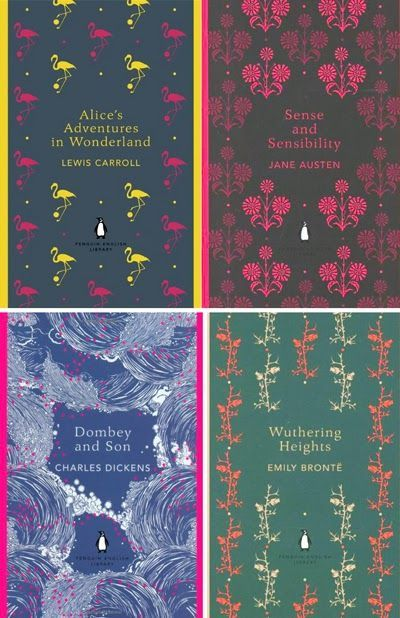 book cover designs by Coralie Bickford Smith via Print and Pattern.