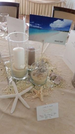 Centrotavola Mare Di Angelinfiore Di Bodini Michela Foto 55 Centrotavola Matrimoniali Centrotavola Nuziale Idee Per Matrimoni