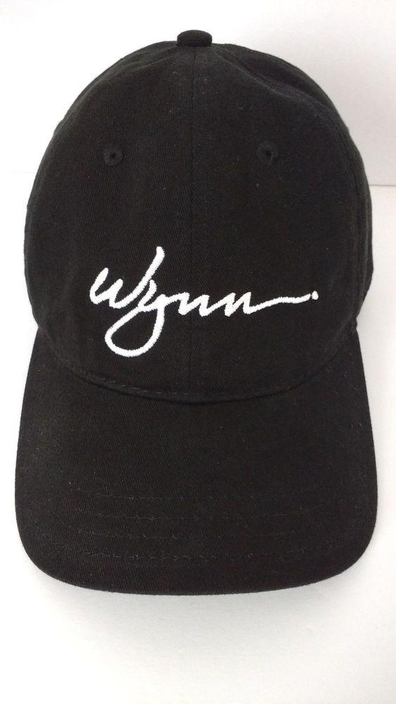 db97e43f WYNN Hotel Casino Las Vegas Baseball Cap Hat Black #Unbranded #BaseballCap