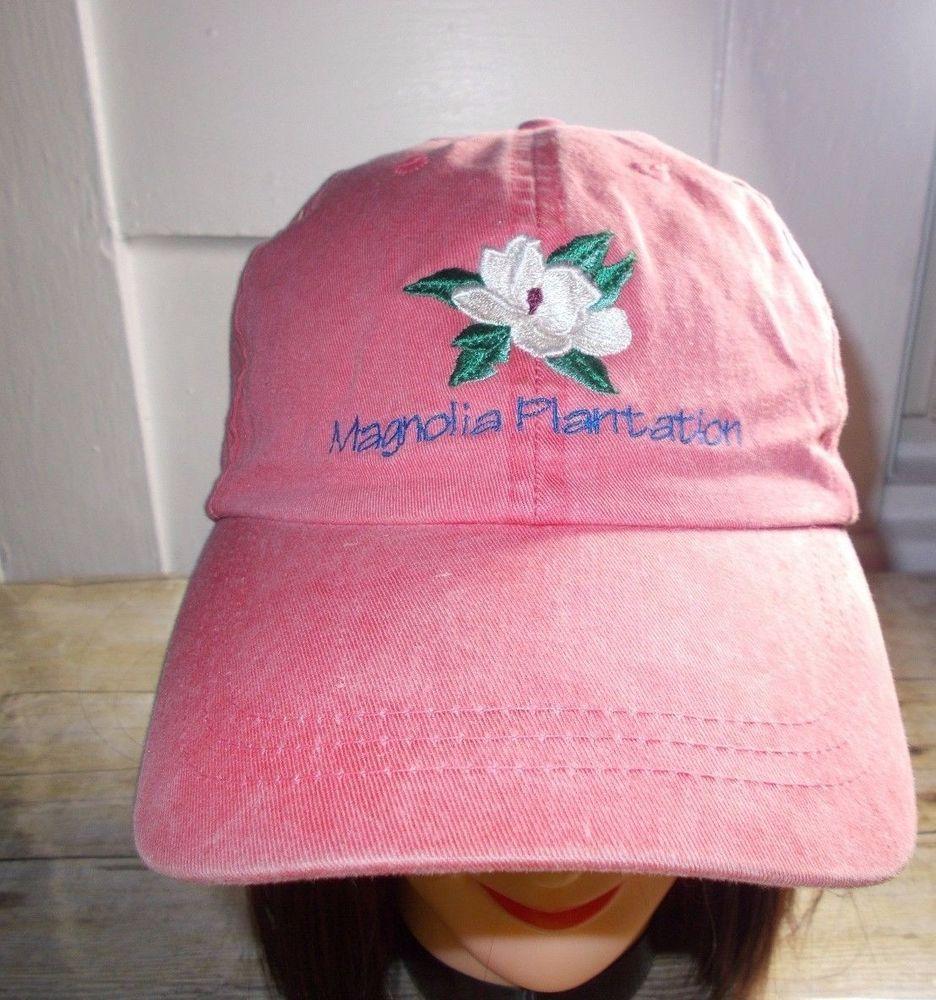 Fahrenheit Fashion Headwear Magnolia Plantation Cap Distressed Watermelon  Color  FahrenheitFashionHeadwear  Cap 25911fd4191