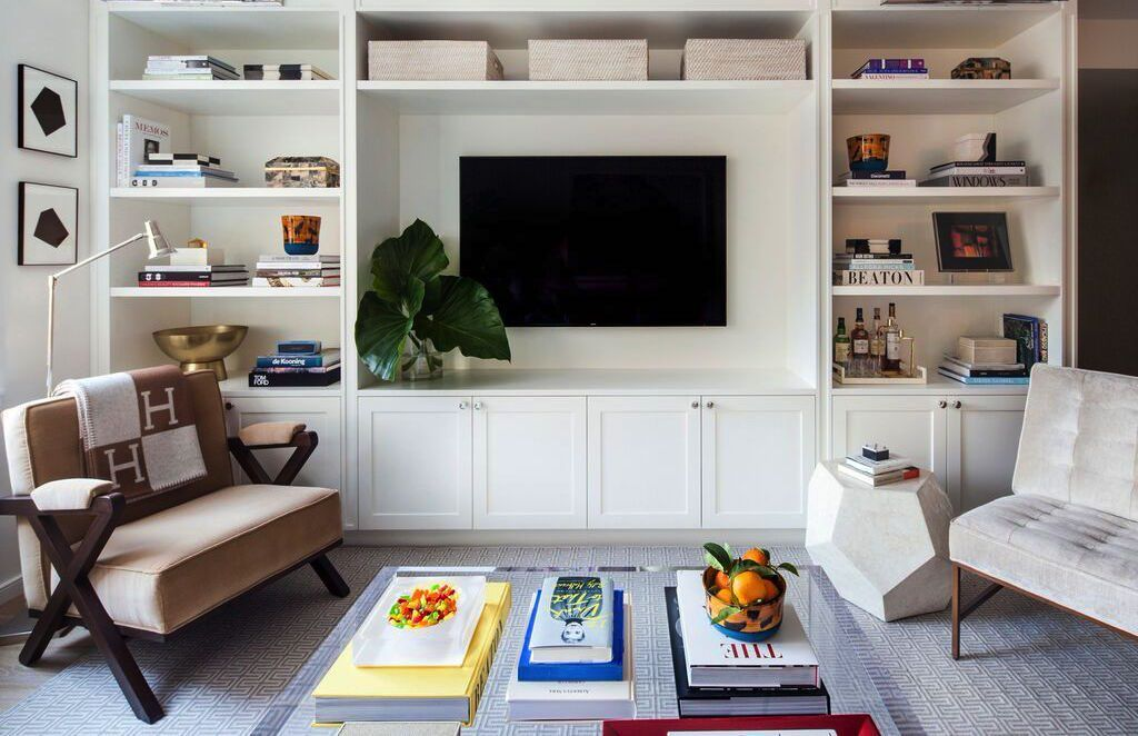 Image Result For Built In Shelving Around Tv Living Room Built