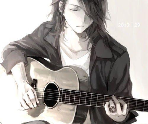 Guitarist Wallpaper Anime Boy Anime Music