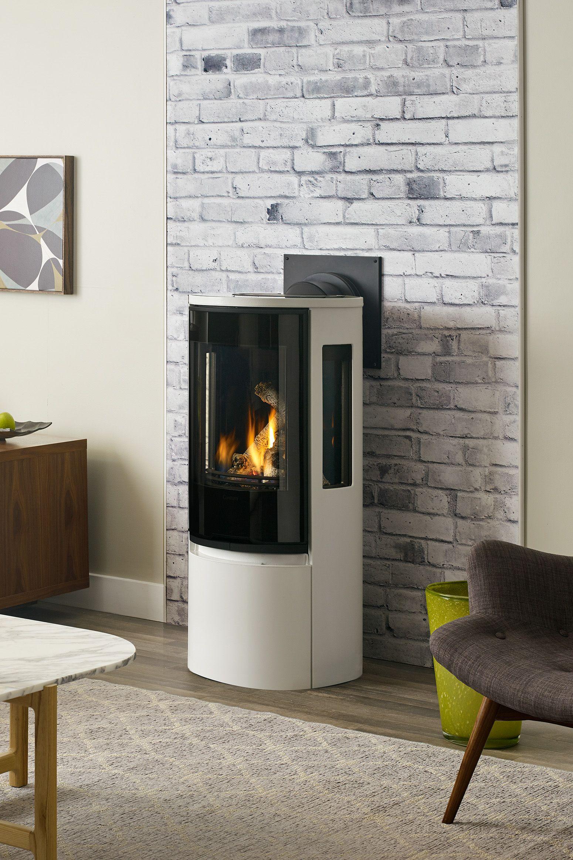 Rc500e Gas Stove Gas Stove Scandanavian Design Freestanding Stove