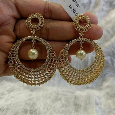 67d373a9f6f Latest 1 gram Gold Earrings Collection