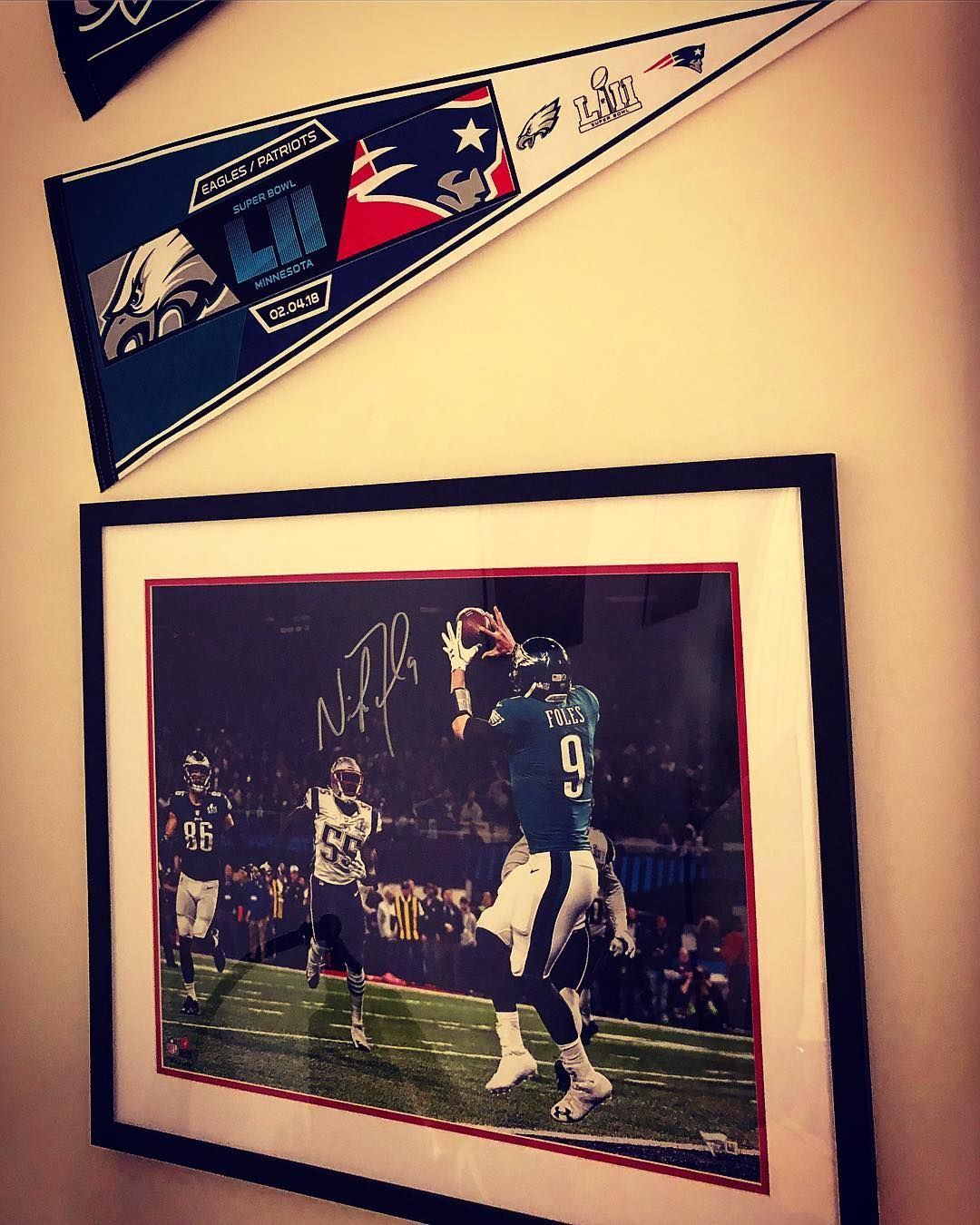 Signed Nick Foles Philly Special photograph #philadelphiaeagles ...