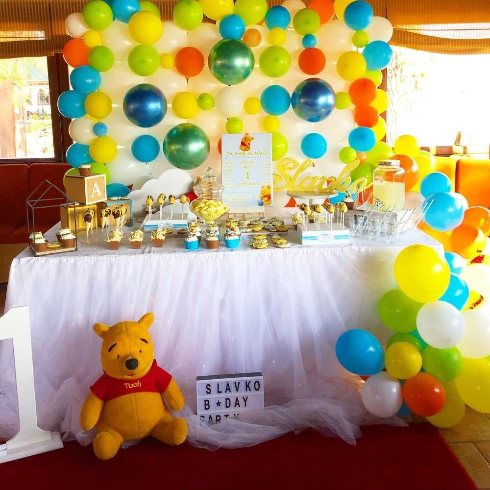 Winnie The Pooh Birthday Party Ideas Winnie The Pooh Birthday