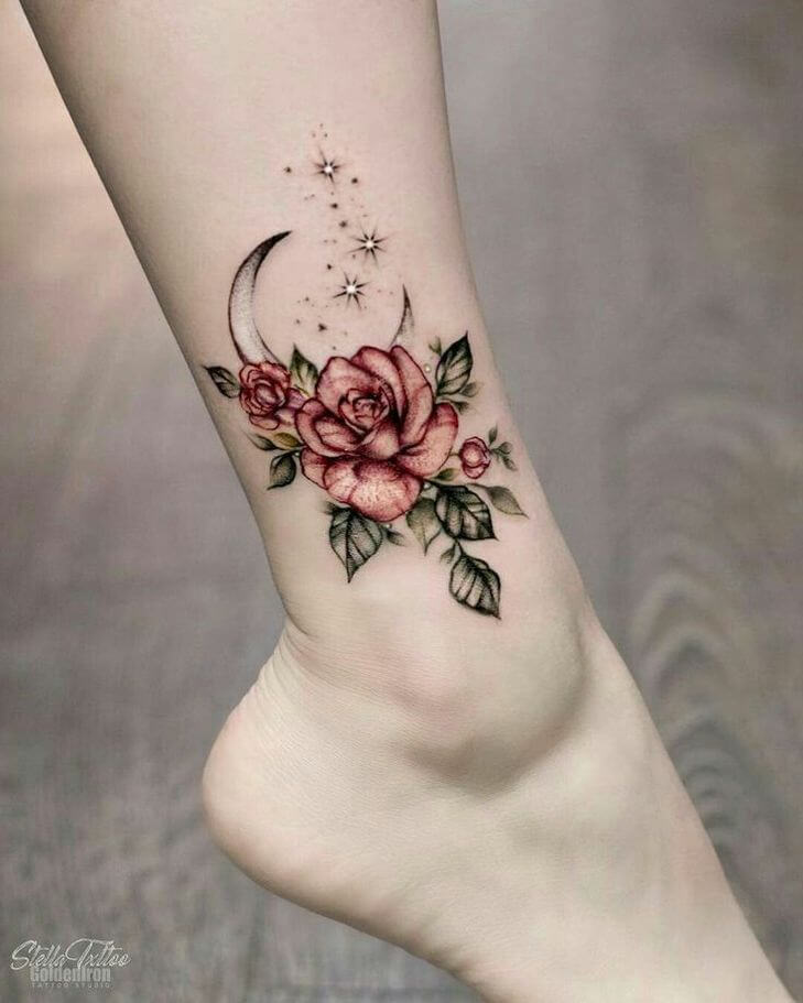 100 Ankle Tattoo Ideas For Men And Women The Body Is A Canvas Ankletattoo Ankletattoos Beautytatoos With Images Cool Small Tattoos Tattoos Foot Tattoos