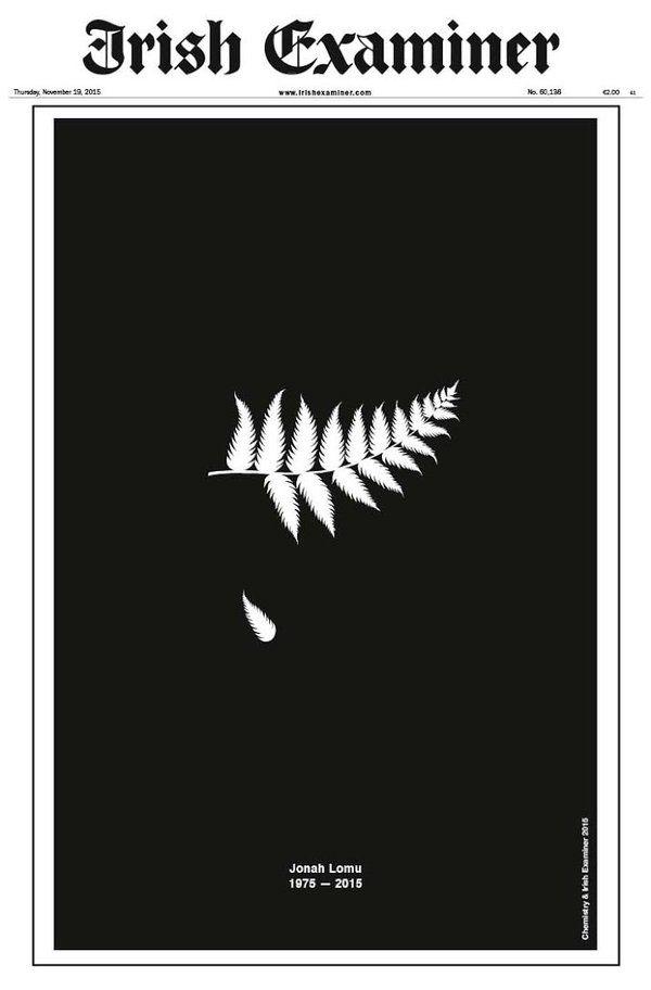 Irish Examiner On Twitter Jonah Lomu Rugby Rugby Art