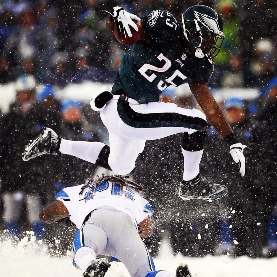 Getting those 217 yards.....Shady McCoy!!!! #SnowBowl #FlyEaglesFly