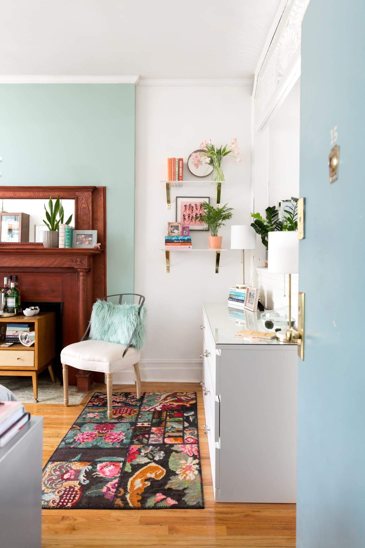 Small Living Room Apartment Therapy: A Super Small 375-Square-Foot Studio Is Masterfully