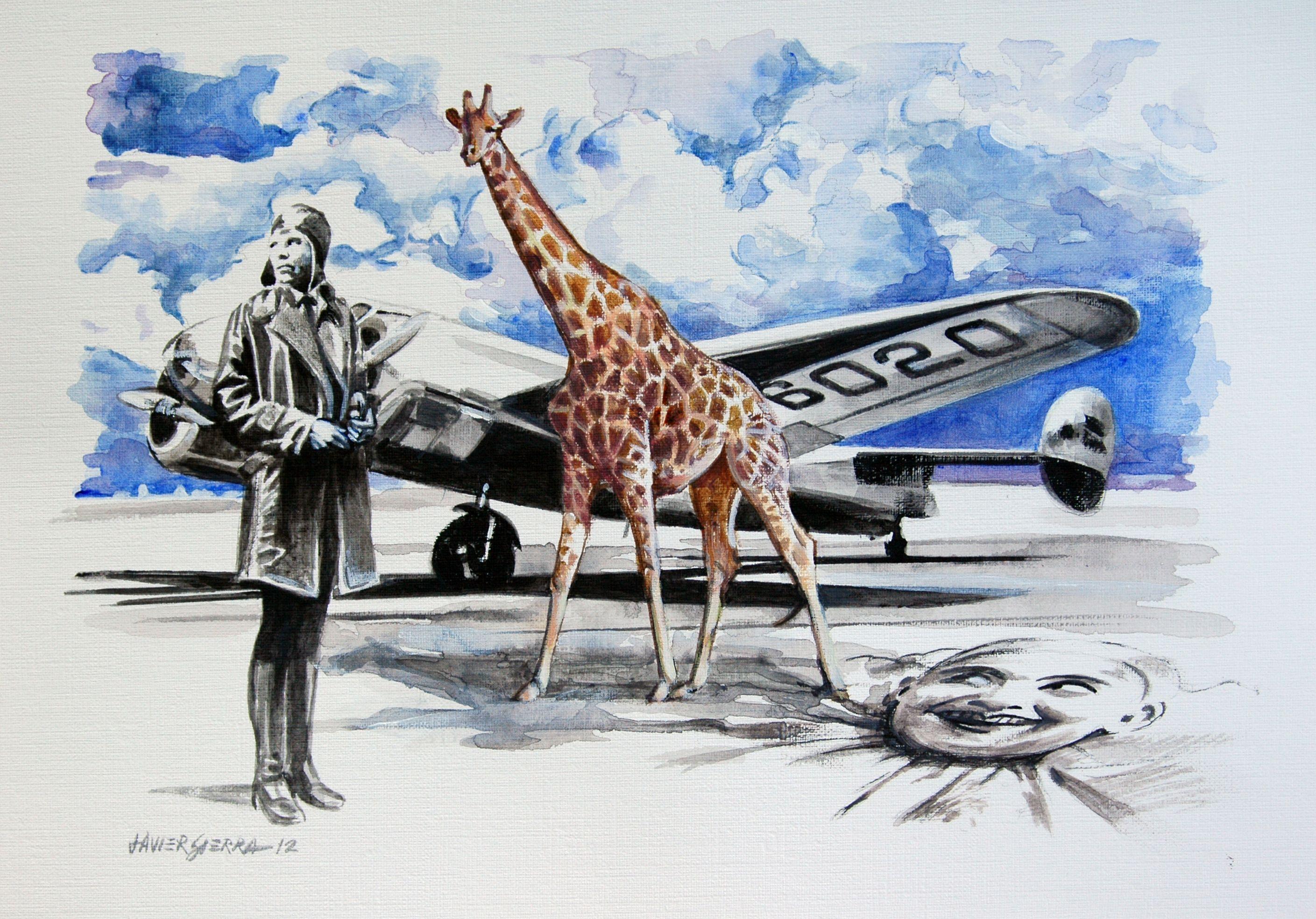 Amelia Earhart | Dibujos | Pinterest | Dibujo